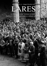 Copertina di Lares, 2-3, 2015